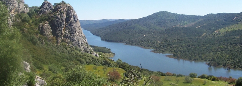 Río Guadiato en Espiel
